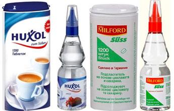 Специализированная продукция для диабетиков