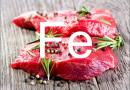 Расчет железа по таблице в продуктах питания