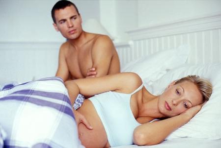 Серьёзные периоды во время беременности