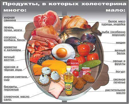 Основное питание при гиперлипидимии