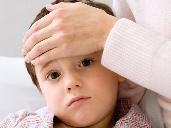 Детские симптомы заболевания