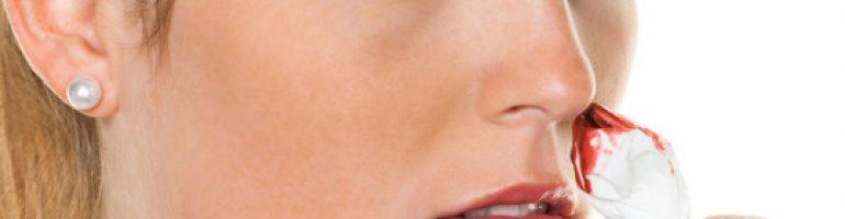 Кровяные выделения из носа при насморке
