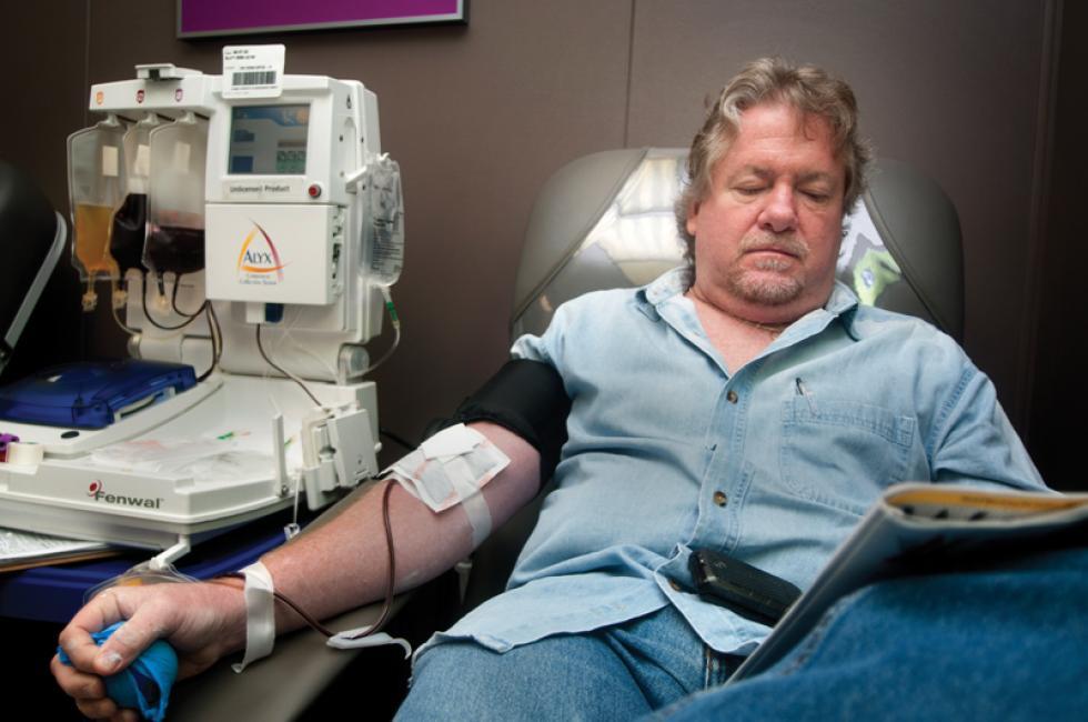 Сдача крови на плазму