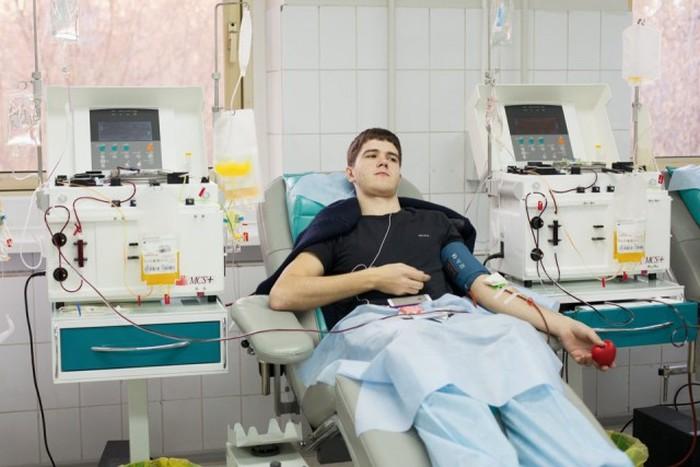 Сдача крови на тромбоциты