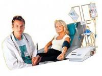 Процедура очищения крови плазмаферезом