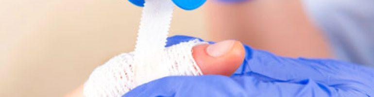 Как остановить кровотечение из пальца