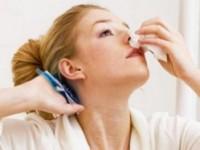 Первая неотложная помощь при кровотечении из носа