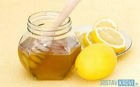Медово - лимонная смесь